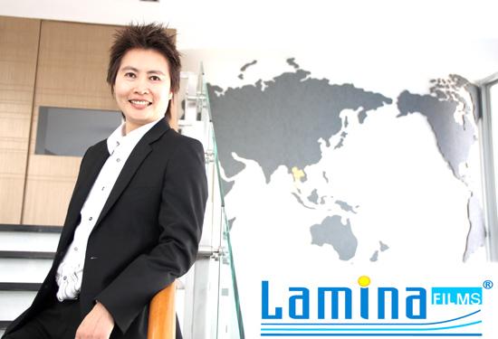 ลามิน่า รุกตลาดฟิล์มชูกลยุทธ์ 360 องศา ตั้งเป้าปีนี้โต 10%