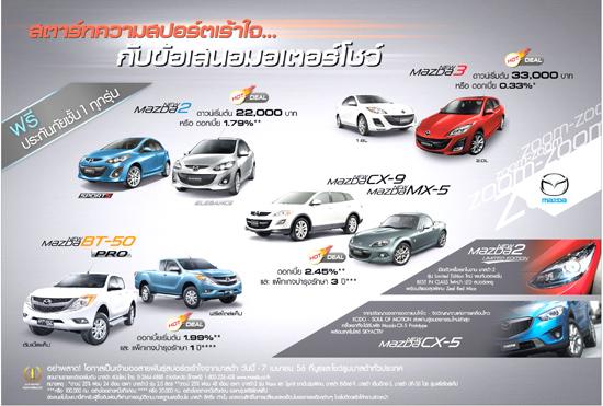 Mazda Hot Deal