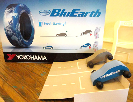 YOKOHAMA  BluEarth AE01