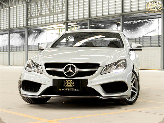 The New E-Class 220 CDI Coupe Sport AMG Facelift