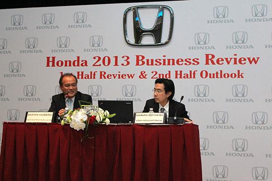 ฮอนด้าเผยความสำเร็จและทิศทางการดำเนินธุรกิจในปี 2556