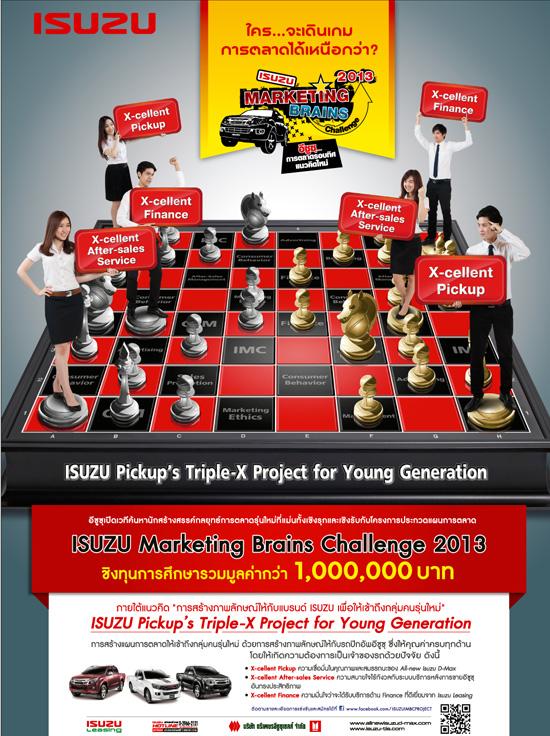 Isuzu Marketing Brains Challenge 2013