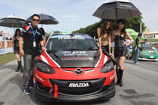 Thailand Super Series 2013 mazda2
