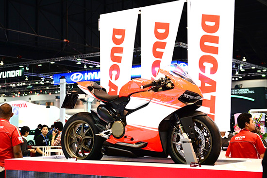 แคมเปญโปรโมชั่น MotorExpo 2013 : Ducati Thailand