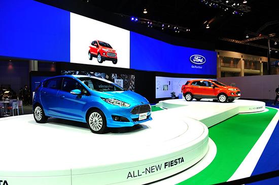 แคมเปญโปรโมชั่น MotorExpo 2013 : Ford