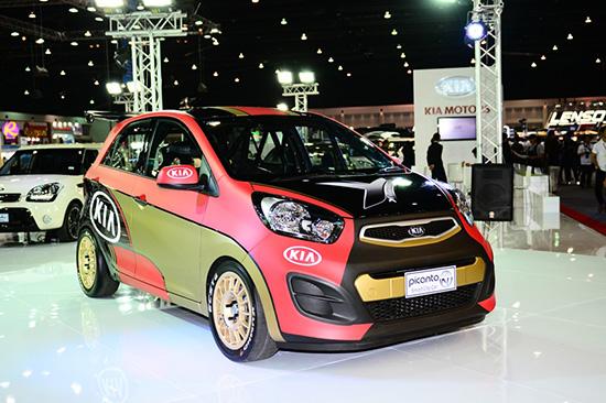 แคมเปญโปรโมชั่น MotorExpo 2013 : KIA