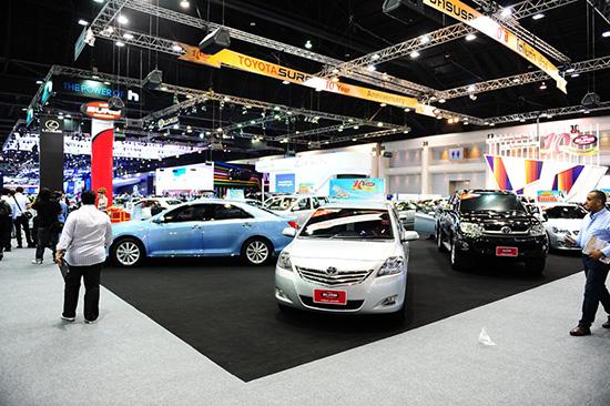 แคมเปญโปรโมชั่น MotorExpo 2013 : Toyota Sure