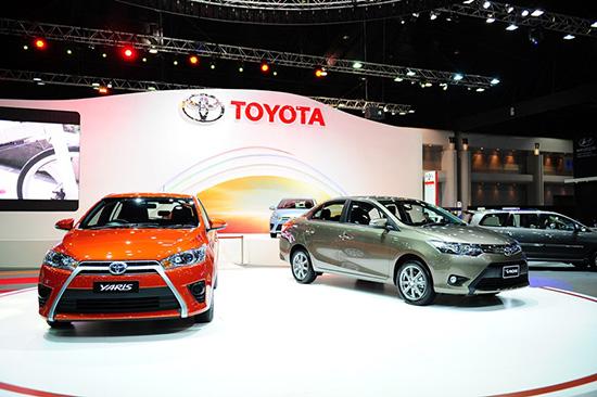 แคมเปญโปรโมชั่น MotorExpo 2013 : Toyota