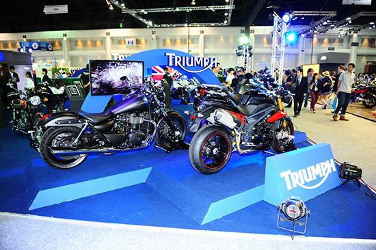 แคมเปญโปรโมชั่น MotorExpo 2013 : Triumph