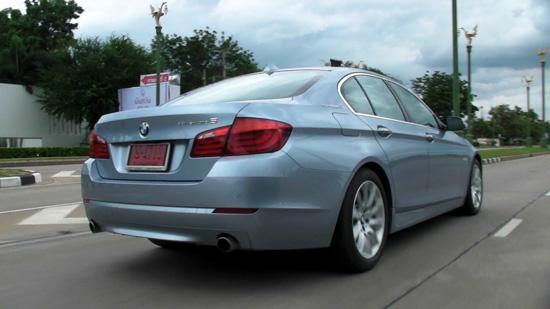 ทดสอบรถ BMW ActiveHybrid 5