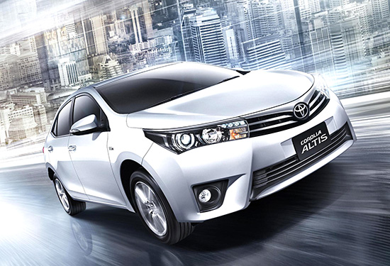 All new corolla altis 2014