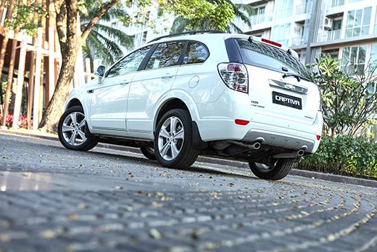 เชฟโรเลต เปิดตัว แคปติวา รุ่นพิเศษ ลิมิเต็ด เอดิชั่น (Chevrolet Captiva Limited Edition)