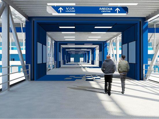BRIC,ภาพ 3D แกรนด์สแตนแทร็ก BRIC,สนามแข่งบุรีรัมย์ ยูไนเต็ด อินเตอร์ เนชั่นแนล เซอร์กิต,สนามแข่ง BRIC,สนามแข่งรถบุรีรัมย์ ยูไนเต็ด,สนามแข่งรถบุรีรัมย์,บุรีรัมย์ ยูไนเต็ด