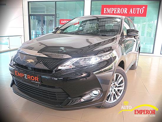 Emperor Import Cars,Emperorauto,เอ็มเพอร์เรอร์ออโต้,รถนำเข้า,รถยนต์นำเข้า,Toyota Harrier 2.0L,Toyota Vellfire 2.4,Toyota Estima Aeras 2.4