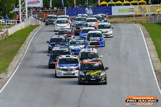 ธนชาต โปร. ซีรีส์ฯ,ธนชาต โปร. เรซซิ่ง ซีรีส์ ไทยแลนด์ แชมเปี้ยนชิพ 2014,Thanachart Bank ProRacing Series 2014,สนามแข่งแก่งกระจาน เซอร์กิต,แข่งรถยนต์แก่งกระจาน เซอร์กิต,ผลการแข่งขันธนชาต โปร. ซีรีส์ฯ