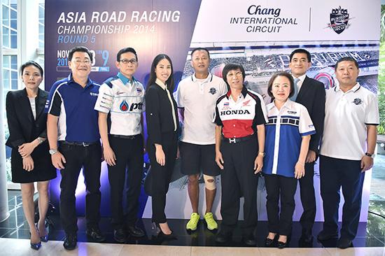 ช้าง อินเตอร์เนชั่นแนล เซอร์กิต,เวิลด์ ซูเปอร์ไบค์,เอเชีย โรด เรซซิ่ง แชมเปี้ยนชิพ,การแข่งขันรถจักรยานยนต์ทางเรียบ,Chang International Circuit,Asia Road Racing Championship,ARRC,Super Sport 600 CC,Underbone 130 CC,Asia Dream Cup,สมาพันย์จักรยานยนต์นานาชาติ,FIM,สนามช้าง,แข่งมอเตอร์ไซค์ที่บุรีรัมย์,เนวิน ชิดชอบ
