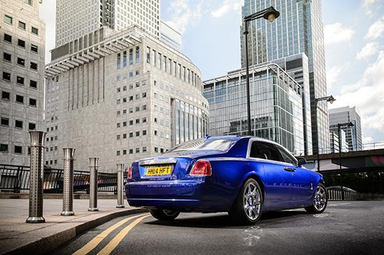 Rolls-Royce GHOST Series II,โรลส์-รอยซ์ มอเตอร์ คาร์ส แบงคอก,โรลส์-รอยซ์ โกสต์ ซีรีส์ II,โกสต์ ซีรีส์ II