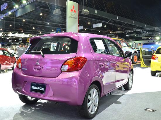 รถอีโคคาร์,รถ ECO CAR,ECO CAR,ECO CAR ในงาน Motor Expo 2014,Nissan March Limited Edition,Suzuki Swift RX,Honda Brio Amaze,Mitsubishi Mirage,Toyota Yaris TRD Sportivo