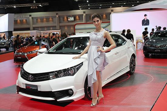 โตโยต้า มิไร,Toyota Mirai,รถพลังงานไฮโดรเจน,โตโยต้า อัลฟาร์ด ใหม่,โตโยต้า เวลไฟร์ ใหม่,โคโรลล่า อัลติส เอสสปอร์ต นูร์เบอร์กริง เอดิชั่น,โตโยต้า คัมรี ใหม่,มอเตอร์โชว์ ครั้งที่ 36