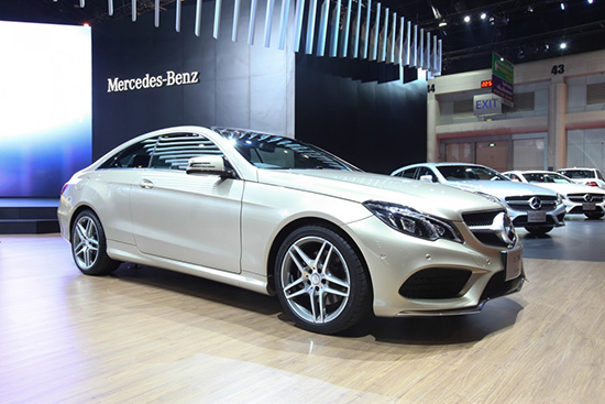 มอเตอร์โชว์ ครั้งที่ 36,new GLE-Class Coupe,Mercedes-AMG GTS,new CLA Shooting Brake,new C-Class BlueTEC HYBRID,C 300 BlueTEC HYBRID,แคมเปญ MercedesCard