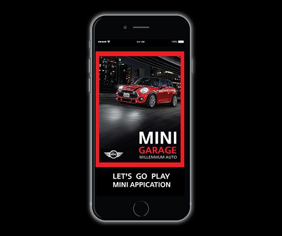 MINI GARAGE,App MINI GARAGE,แอพพลิเคชั่นมินิ การาจ,ไอคอน เซอร์วิส,แอพพลิเคชั่นมินิ,มินิ การาจ,โมบายแอพพลิเคชั่นใหม่,MINI GARAGE Mobile Application