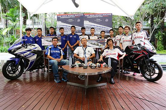 เอเชีย โร้ด เรซซิ่ง แชมเปี้ยนชิพ 2015,สนามช้าง อินเตอร์เนชั่นแนล เซอร์กิต,การแข่งขันรถจักรยานยนต์ทางเรียบชิงแชมป์เอเชีย,การแข่งขันรถจักรยานยนต์ทางเรียบชิงแชมป์เอเชีย ที่บุรีรัมย์,ช้าง บุรีรัมย์ ไบค์ เฟสต์,ยามาฮ่า ไทยแลนด์ เรซซิ่ง,เอ.พี. ฮอนด้า เรซซิ่ง ไทย