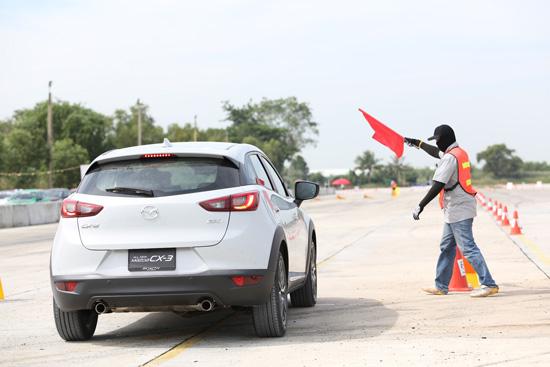 ทดลองขับ mazda CX-3 ใหม่,Track Test Drive,ลองขับ mazda CX-3 ใหม่,ทดลองขับ mazda CX-3,มาสด้า ซีเอ็กซ์-3