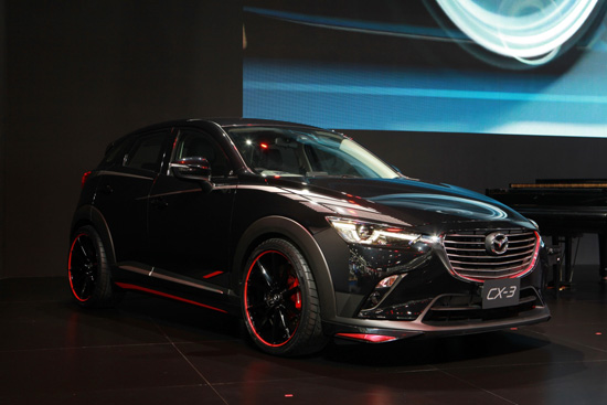 มาสด้า CX-3,mazda CX-3,All New Mazda MX-5,New Mazda CX-5,แคมเปญมอเตอร์โชว์