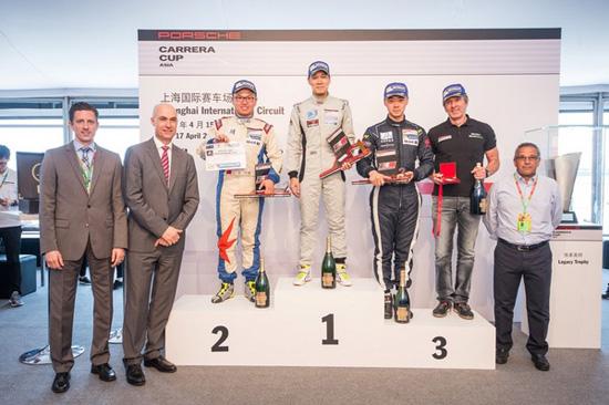 Porsche Carrera Cup Asia 2016,Est Cola Thailand,วุฒิกร อินทรภูวศักดิ์,เอเอเอส ออโต้ เซอร์วิส