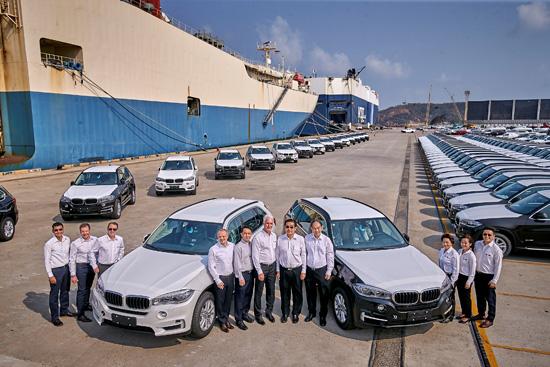 บีเอ็มดับเบิลยู กรุ๊ป แมนูแฟคเจอริ่ง ประเทศไทย,ส่งออกรถยนต์บีเอ็มดับเบิลยูสู่ประเทศจีน,ส่งออกรถยนต์ bmw