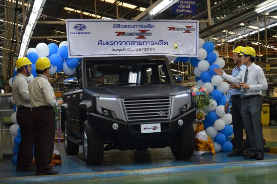 ไทยรุ่งยูเนี่ยนคาร์,NEW TR TRANSFORMER II,TR TRANSFORMER II,รถคันแรกจากสายการผลิต,สมพงษ์  เผอิญโชค,ไทยรุ่ง TR TRANSFORMER II