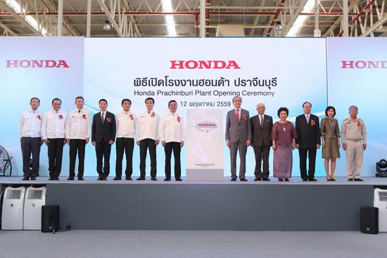 โรงงานฮอนด้า ปราจีนบุรี,ฮอนด้าจัดพิธีเปิดโรงงานปราจีนบุรีแห่งใหม่,โรงงานผลิตรถยนต์ฮอนด้าแห่งใหม่ในสวนอุตสาหกรรมโรจนะ จังหวัดปราจีนบุรี,โรงงานผลิตรถยนต์ฮอนด้าแห่งใหม่,เทคโนโลยี ARC Line,โรงงานผลิตรถยนต์ฮอนด้า ซีวิค ใหม่,ไลน์ผลิต ฮอนด้า ซีวิค ใหม่