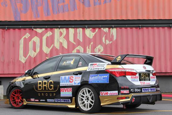 โตโยต้า มอเตอร์สปอร์ต 2016,BRG MMS Bosch Service by Carzanova Racing,โตโยต้า มอเตอร์สปอร์ต,อัลติส วันเมคเรซ