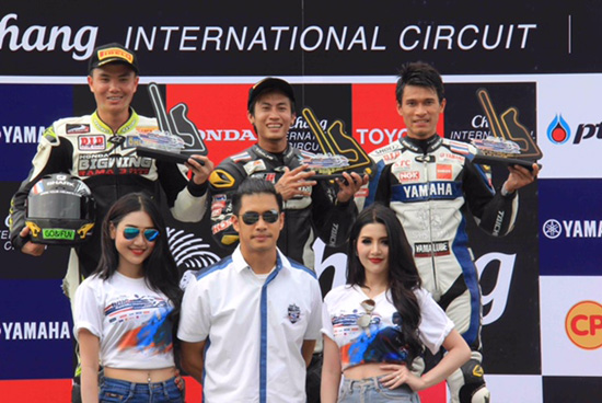 YAMAHA RIDERS' CLUB RACING TEAM,BRIC SUPERBIKE,BRIC SUPERBIKE CHAMPIONSHIP 2016 สนามที่ 1