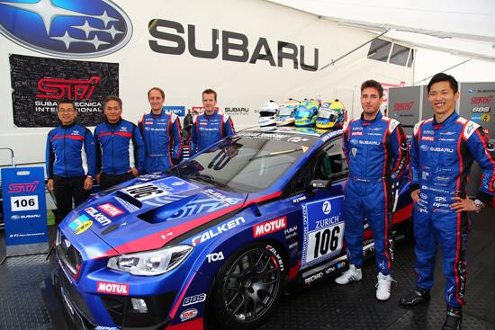 SUBARU WRX STI,2016 Nürburgring 24-Hour Race,2016 Nurburgring 24-Hour Race,Nurburgring 24-Hour Race,Nurburgring 24-Hour,SUBARU WRX,ทีมซูบารุ