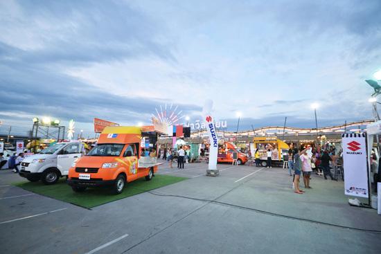 Suzuki Carry Food Truck Fest,Suzuki Carry Food Truck,Food Truck,มหกรรมเมนูเด็ด ขับเคลื่อนธุรกิจเด่น ทั่วไทย,ซูซูกิ แครี่,Suzuki Carry Food Truck Fest จังหวัดนครสวรรค์,Suzuki Carry Food Truck Fest จังหวัดนครราชสีมา