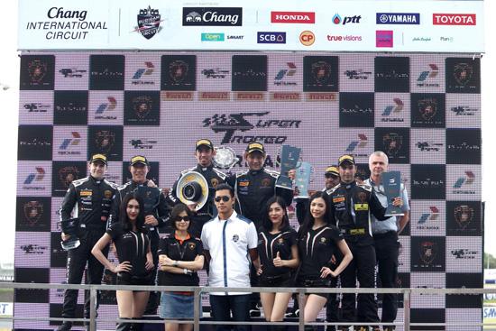 2016 Lamborghini Blancpain Super Trofeo Series,Lamborghini Blancpain Super Trofeo Asia Series,รายการแข่งขันรถยนต์แลมโบร์กินี,Super Trofeo,แลมโบร์กินี ฮูราคาน แอลพี 620-2 ซูเปอร์ โทรฟีโอ,สนามช้าง บุรีรัมย์ อินเตอร์เนชันแนล เซอร์กิต