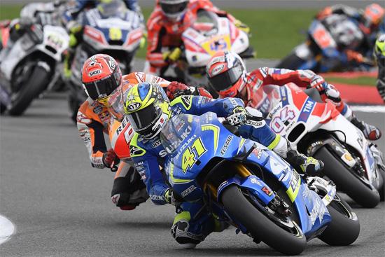 มาเวอริค บิญาเลส,Suzuki GSX-RR,MotoGP สนามที่ 12,MotoGP สนามที่ 12 Silverstone,สนาม Silverstone,Maverick VIÑALES,Valentino ROSSI,Marc MARQUEZ,ผลการแข่งขัน MotoGP สนามที่ 12 Silverstone