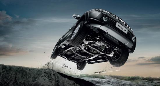 มิตซูบิชิ ไทรทัน ใหม่,2.4 ลิตร ไมเวคคลีน ดีเซล,ไมเวคคลีน ดีเซล,ไทรทัน ใหม่,มิตซูบิชิ ไทรทัน 2017,Super Select 4WD II All Wheel Control,SS4-II,ระบบขับเคลื่อน 4 ล้อ,Mitsubishi Triton 2017,Triton 2017,Mitsubishi Triton ใหม่