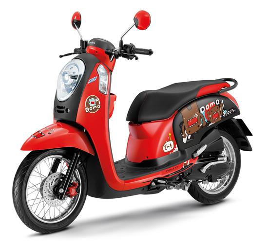 สกู๊ปปี้ไอ โดโมะคุง ลิมิเต็ด อิดิชั่น,Honda Scoopy i Domo-kun Limited Edition,Scoopy i Domo-kun Limited Edition,Scoopy i Domo-kun,Domo-kun,ฮอนด้า สกู๊ปปี้ไอ,Honda Scoopy i ,Honda Wing Center