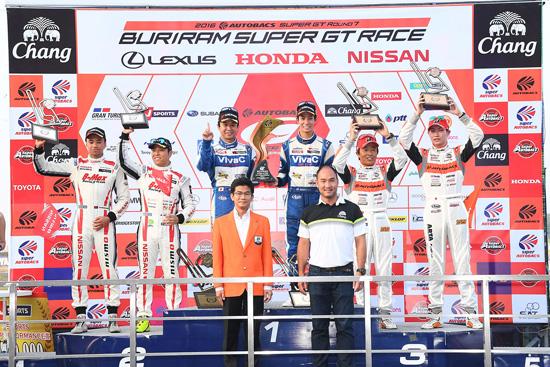 BuriramSuperGT,Buriram Super GT 2016,บุรีรัมย์ ซูเปอร์ จีที เรซ,ผลการแข่งขันบุรีรัมย์ ซูเปอร์ จีที เรซ,ผลการแข่งขัน Buriram Super GT 2016