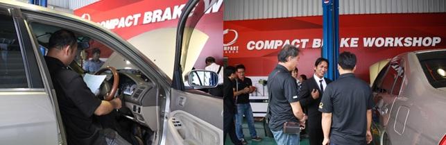 คอมแพ็คเบรก,Compact Brake,Compact Brake Work Shop,คอมแพ็คอินเตอร์เนชั่นแนล 1994,โครงการอบรมช่างประจำศูนย์บริการ