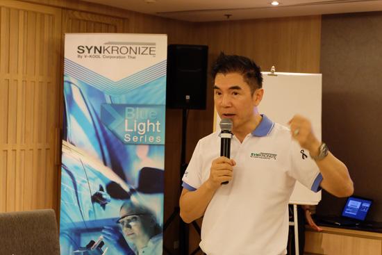 ฟิล์มกรองแสง,รังสีแสงสีฟ้า,ซิงโครไนซ์ อัลติเมท บลูไลท์ ซีรี่ส์,SYNKRONIZE,Ultimate Blue-light Series,ฟิล์มกรองแสงรถยนต์,SYNKRONIZE by V-KOOL CORPORATION THAI,SYNKRONIZE,V-KOOL CORPORATION THAI,กฤณัทฐพัชร์ จตุรภัทรพนิต,วี-คูล คอร์ปอเรชั่น ไทย