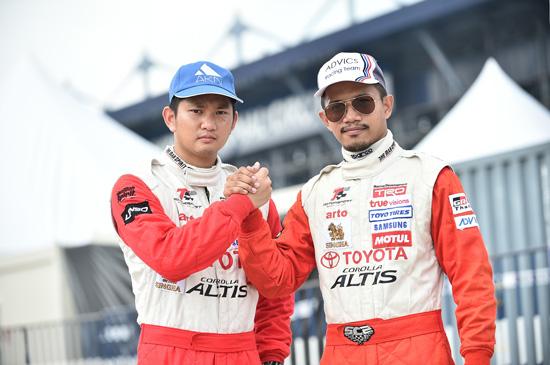 สุพงศ์ ขำต้นวงษ์,นิวัฒน์ กลิ่นจำปา,Netz Cup Vitz Race,Netz Cup Vitz Race 2016,โตโยต้า มอเตอร์สปอร์ต 2016,Toyota Team Thailand