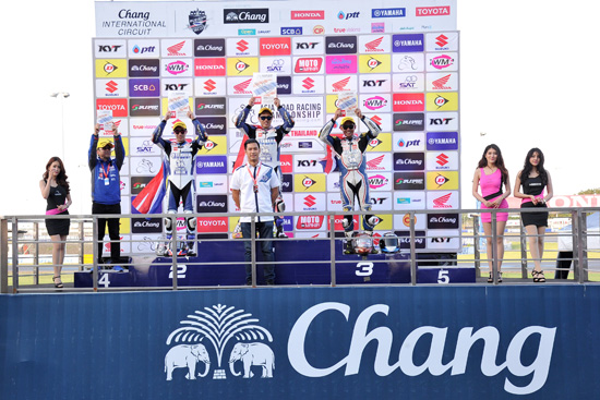 เอเชีย โร้ด เรซซิ่ง แชมเปี้ยนชิพ 2016,asia road racing champion 2016,สนามช้าง   อินเตอร์เนชั่นแนล เซอร์กิต