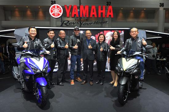 Yamaha AEROX 155,AEROX 155,XSR 900,Yamaha XSR900,Motor Expo 2016