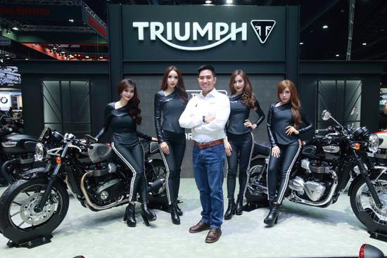 ยอดจองไทรอัมพ์,ยอดจอง Triumph,Bonneville Bobber,Bonneville T100,Bonneville T100 Black,Street Triple