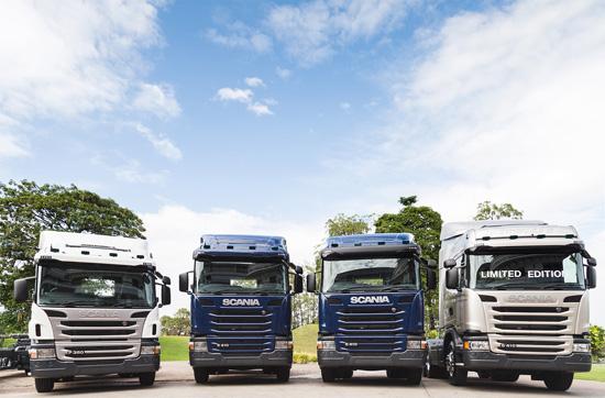 สแกนเนีย,รถบรรทุกสแกนเนีย,สแกนเนีย สยาม,ภาพรวมของตลาดรถบรรทุกขนาดใหญ่,รถบัสโดยสาร สแกนเนีย,รถโดยสาร สแกนเนีย