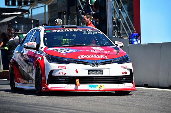 รายการ ADAC Zurich 24h Nürburgring ประเทศเยอรมนี,ADAC Zurich 24h Nürburgring,โตโยต้า กาซู เรซซิ่งทีม ไทยแลนด์,Toyota Gazoo Racing Team Thailand,Gazoo Racing,โคโรลล่า อัลติส,Toyota Corolla Altis