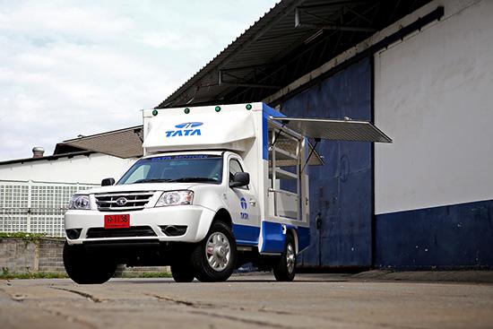 ทาทา มอเตอร์ส,รถโมบายเซอร์วิสรุ่นใหม่,บริการหลังการขาย,ทาทา,โมบายเซอร์วิส ทาทา